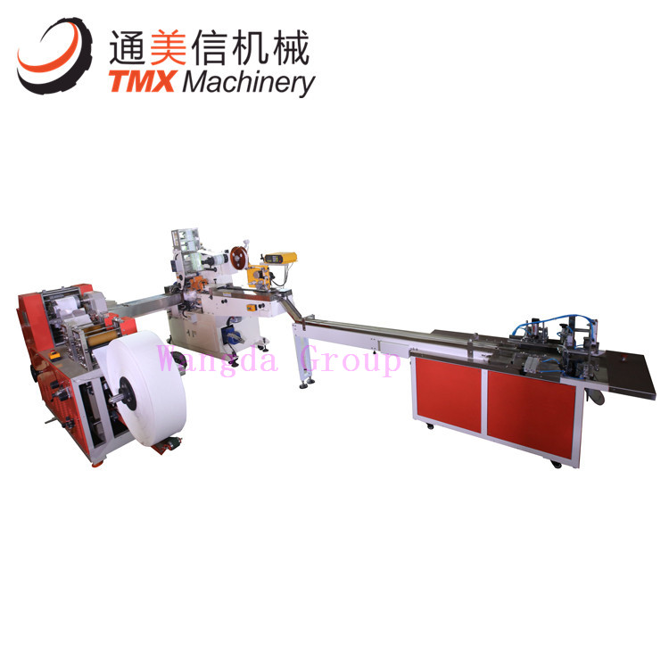 Full Automatic Handkerchief Tissue Production Line