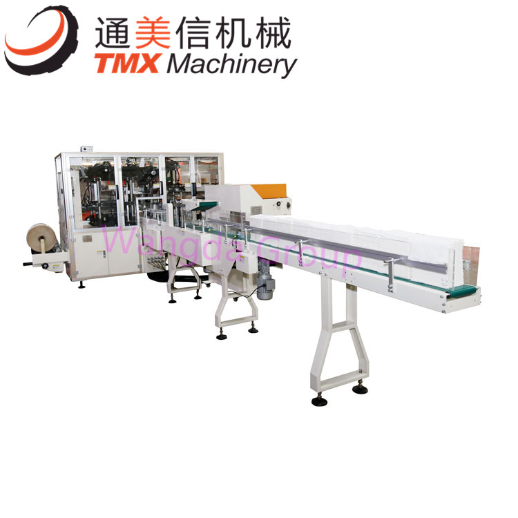 full automatic hand towel facial tissue packing machine