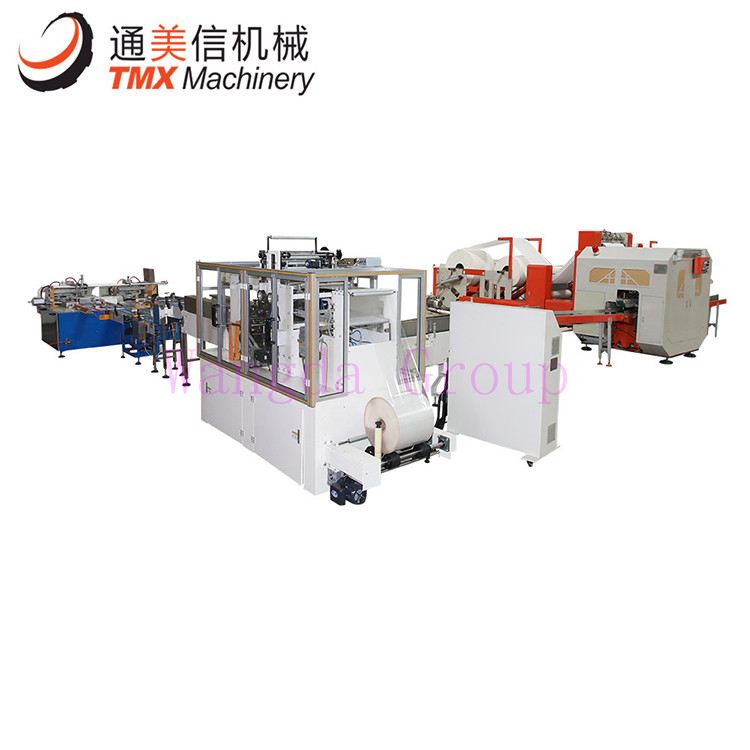 Full Automatic Facial Tissue Production Line Nylon packing