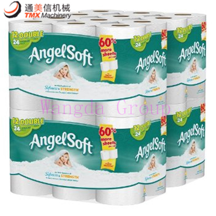toilet rolls packing machine products