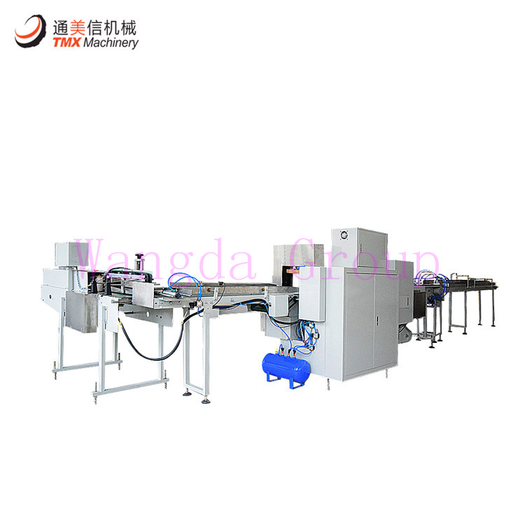 PM6 Toilet Paper Single Roll Packing Machine